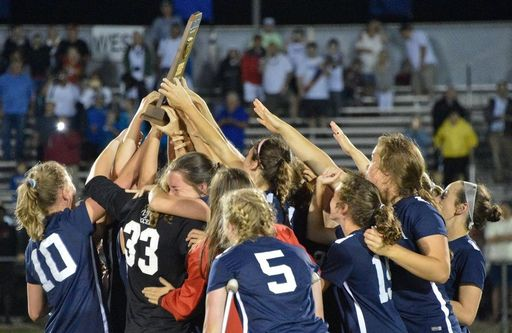 Girls Soccer team wins fifth state title in seven years
