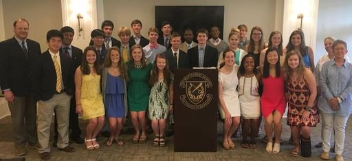 English Honor Society Inducts New Members