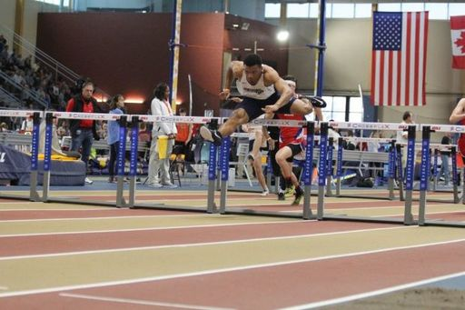 Indoor Track Finishes 5th in the State; Keefe White Wins 2 Titles