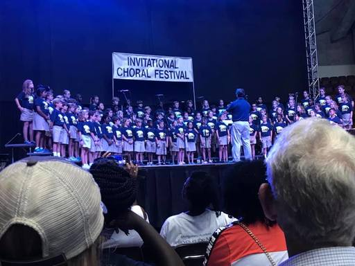 Lower School Chorus Earns Superior Ratings at Choral Festival