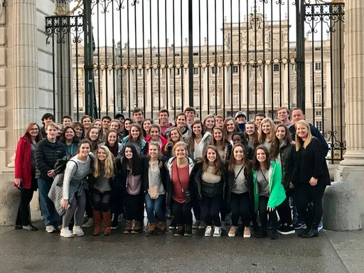 Upper School Students Travel to Spain
