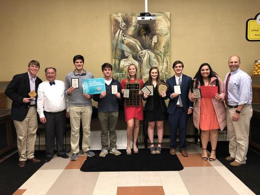 Six Students Qualify for National Tournament