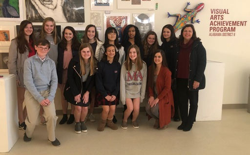 Middle & Upper School Students Recognized at Visual Arts Achievement Program