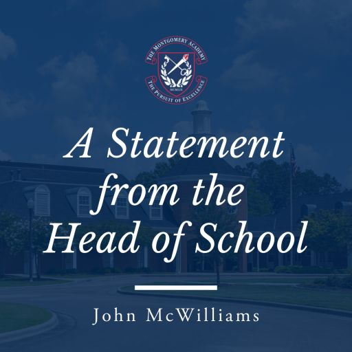 Statement from Head of School John McWilliams