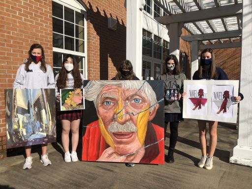 Art Students Place in Visual Arts Competition