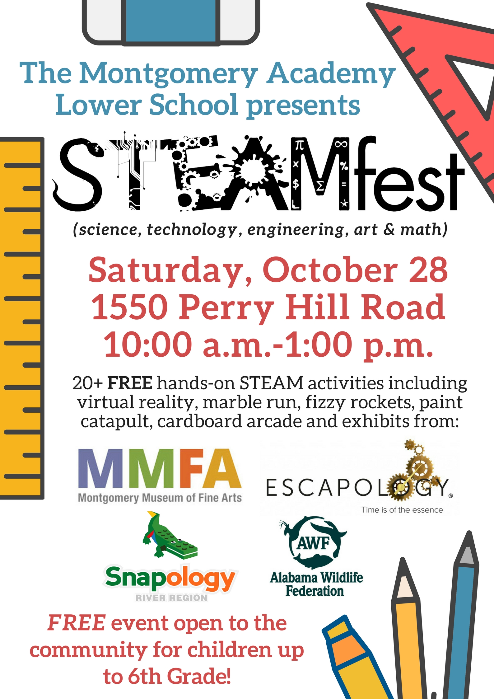 STEAMfest poster