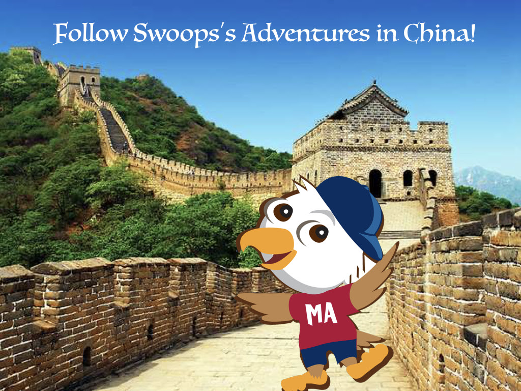 Swoops in China